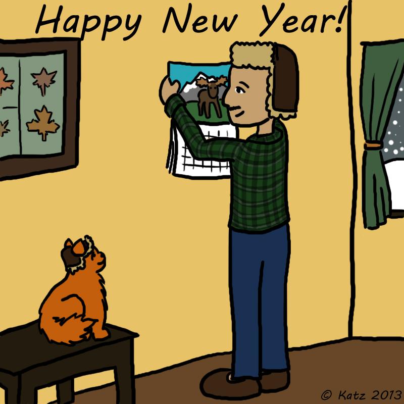Cat Comics #1